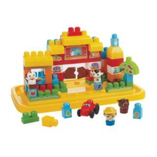 Mega Bloks First Builders Maxi Farm Set