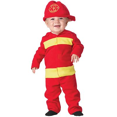 Fire Fighter Costume - Baby