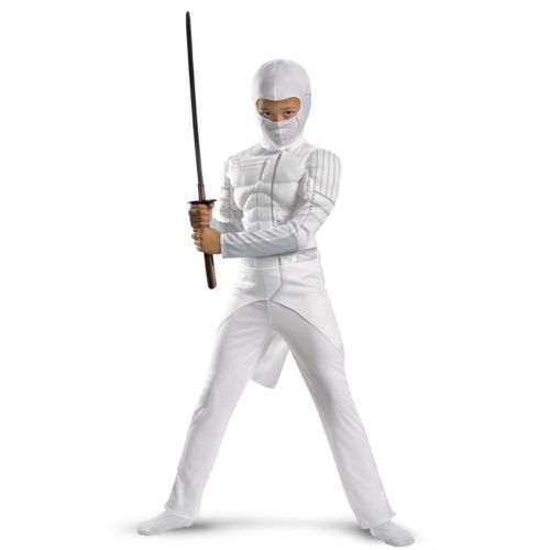 G.I. Joe Retaliation Storm Shadow Classic Muscle Chest Costume - Kids