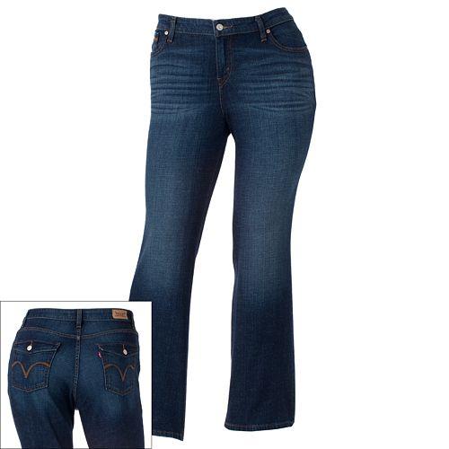 e8739036930 Plus Size Levi s 580 Bootcut Jeans