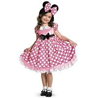Disney Mickey Mouse Clubhouse Minnie Mouse Glow in the Dark Costume - Toddler / Kids