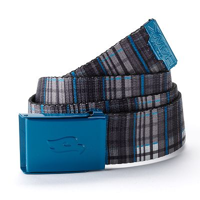 Tony Hawk Plaid Web Belt