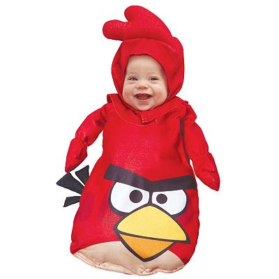 Angry Birds Red Bird Bunting Costume - Baby