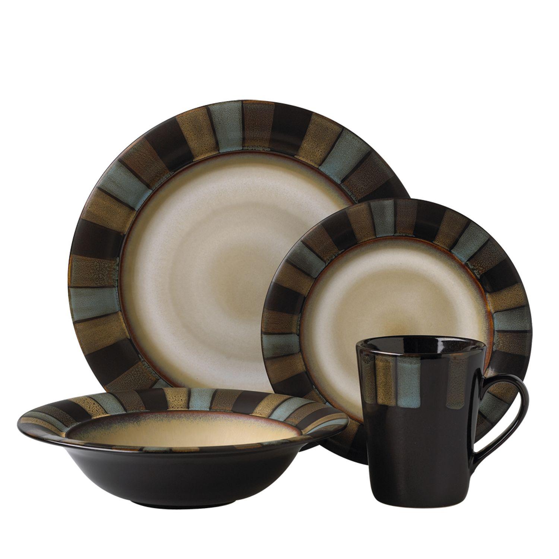 Sale  sc 1 st  Kohlu0027s & Pfaltzgraff Everyday Calico 16-pc. Dinnerware Set