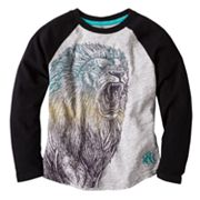 Rock and Republic Lion Raglan Tee - Boys 4-7x
