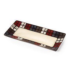 Pfaltzgraff Everyday Calico Bread Tray