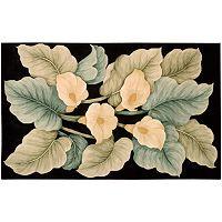 Nourison Tropics Floral Wool Rug - 7'6