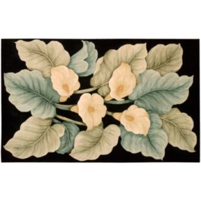 Nourison Tropics Floral Wool Rug - 7'6'' x 9'6''
