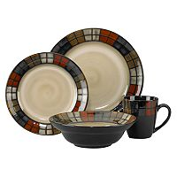 Pfaltzgraff Everyday Calico 16 pc Dinnerware Set