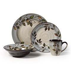 Pfaltzgraff Rustic Leaves 16 pc Dinnerware Set