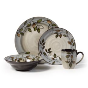 Pfaltzgraff Rustic Leaves 16-pc. Dinnerware Set