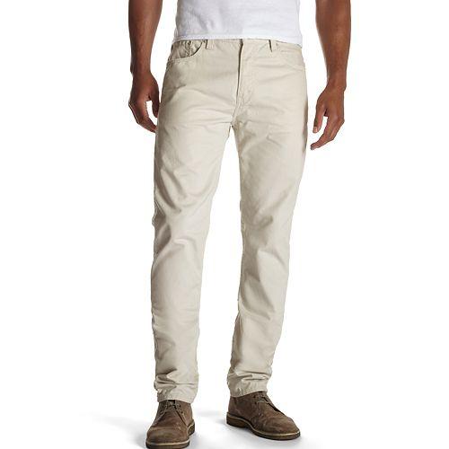 25e1d841abd Levi's 508 Taper Fit Twill Pants - Men