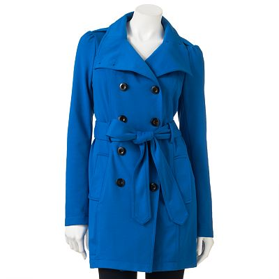 Candie's Color Trench Coat