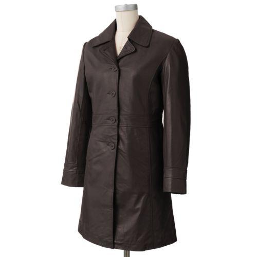 R&O Leather Walker Coat - Women's