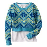 Energie Cropped Sweater and Tank Set - Girls 7-16