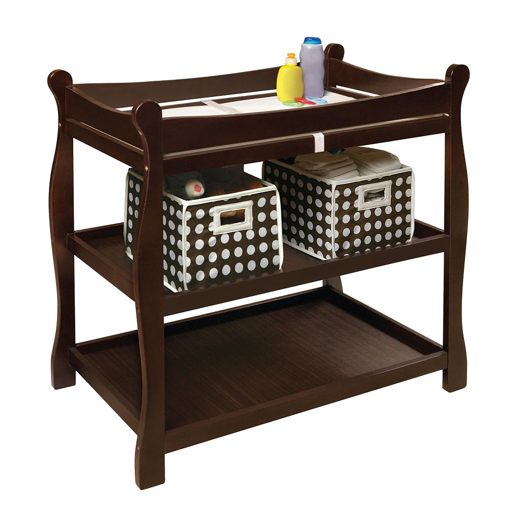 Badger Basket Sleigh Changing Table