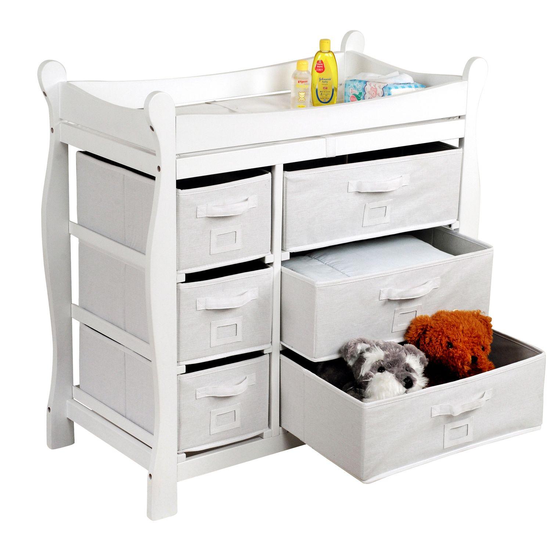 Badger Basket Estate Baby Changing Table. (1). Sale