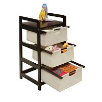 Badger Basket Three-Drawer Hamper