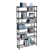 Atlantic 8 tier Multimedia Storage Shelf