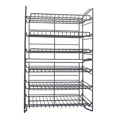 Atlantic 6 tier Double Can Rack