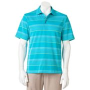 Grand Slam Energy Open Space Easy-Care Striped Performance Polo