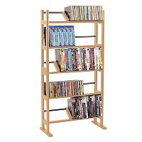 Atlantic Element Multimedia Storage Shelf
