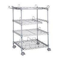 Atlantic Gamekeeper 4-Tier Multimedia Storage Cart