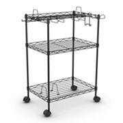 Atlantic 3-Tier Multimedia Storage Cart