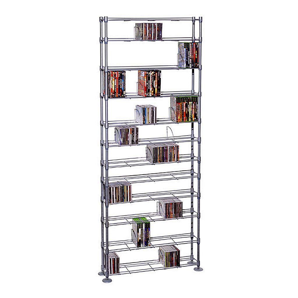 Atlantic 12-Tier Multimedia Storage Shelf