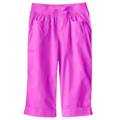 Jumping Beans Solid Capris - Girls 4-7