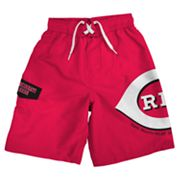 Cincinnati Reds Cargo Swim Trunks - Boys 8-20