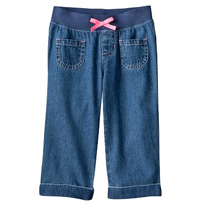 Jumping Beans Denim Capris - Girls 4-7