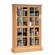 Atlantic Windowpane Multimedia Cabinet