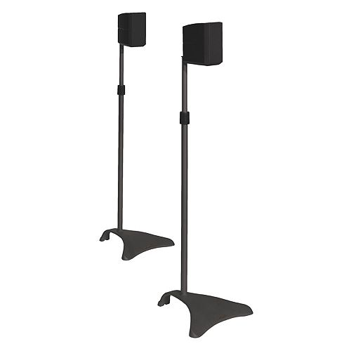 Atlantic 2-pc. Satellite Speaker Stand Set