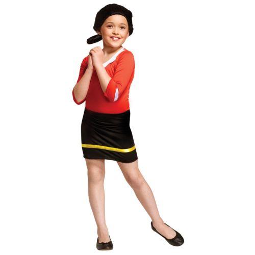 Popeye Olive Oyl Costume - Kids