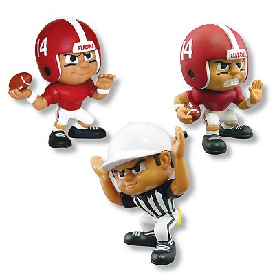 Alabama Crimson Tide Lil Teammates 3-pc. Collectible Team Set