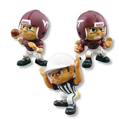 Virginia Tech Hokies Lil Teammates 3-pc. Collectible Team Set