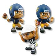 West Virginia Mountaineers Lil Teammates 3-pc. Collectible Team Set