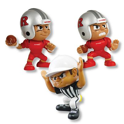 Rutgers Scarlet Knights Lil Teammates 3-pc. Collectible Team Set