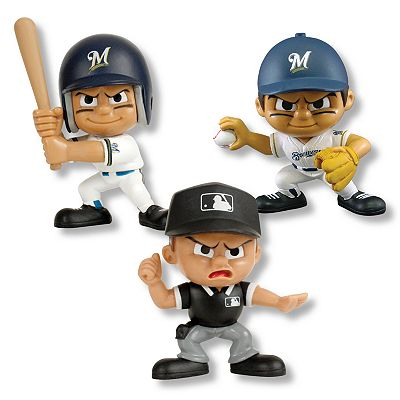 MLB Milwaukee Brewers Lil' Teammates 3-pc. Collectible Team Set