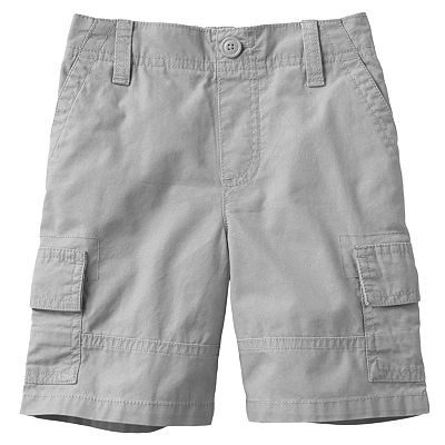 SONOMA life + style Canvas Cargo Shorts - Toddler