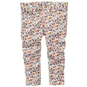 OshKosh B'gosh Floral Skinny Pants - Girls 4-6x