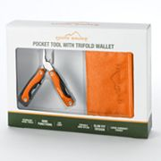 Eddie Bauer Nylon Wallet and Pocket Tool Gift Set