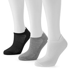 Tek Gear® 3 pkPerformance Low-Cut Tab Socks