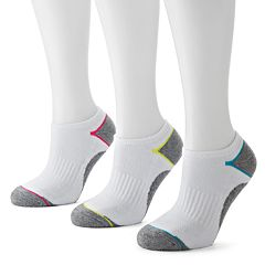 Tek Gear® 3 pkPerformance No-Show Socks