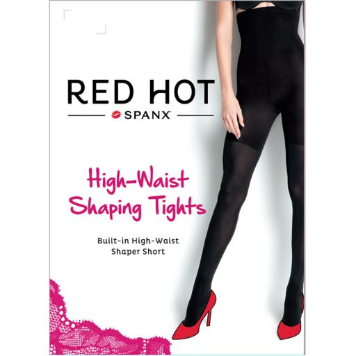 Red Hot by Spanx High-Waist Shaping Tights - 1838