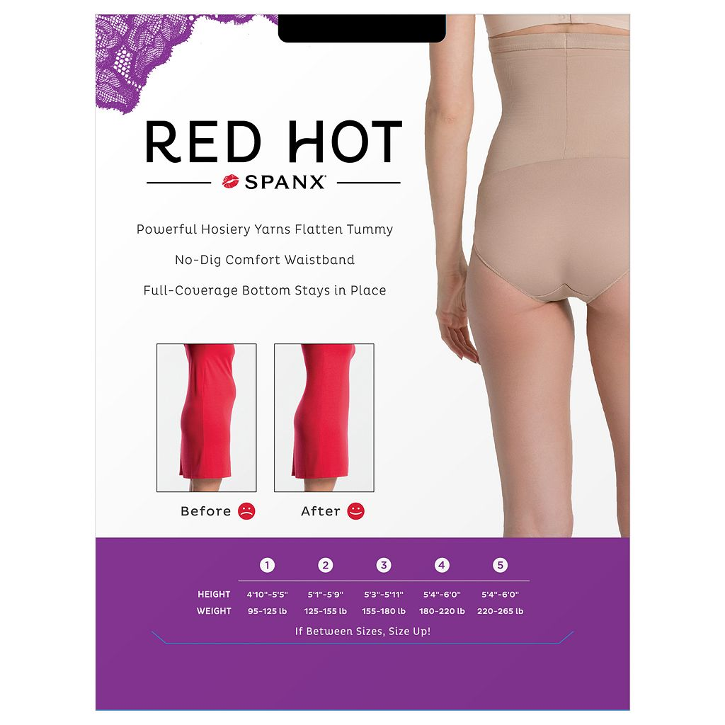 Red Hot by Spanx Super Control High-Waist Panty 1841 - Women's