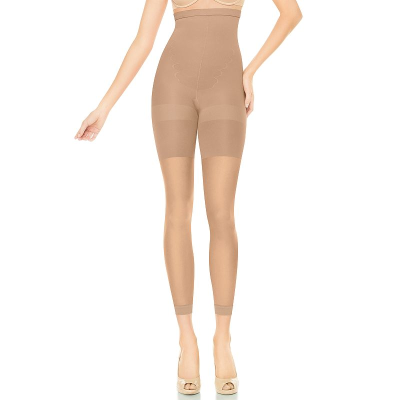 assets red hot label by spanx high waist footless pantyhose 1843. Black Bedroom Furniture Sets. Home Design Ideas