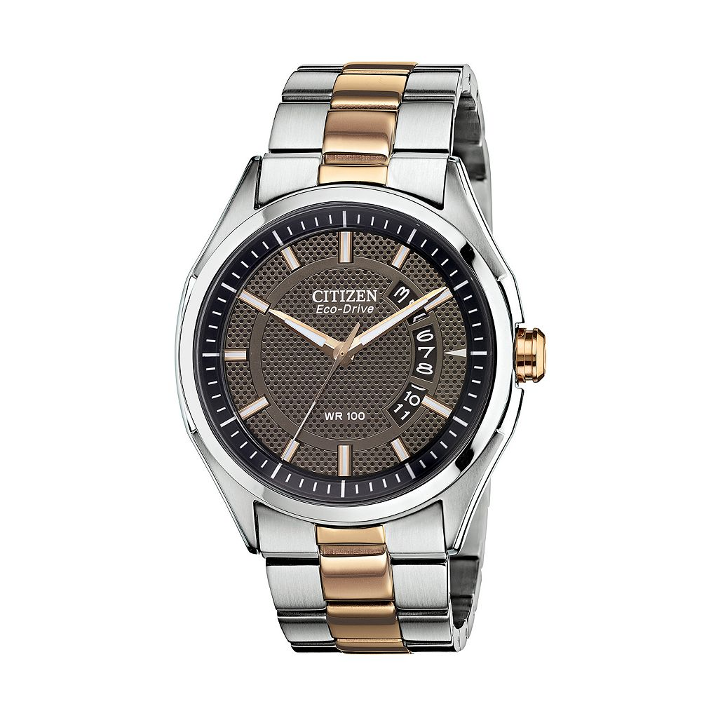 Drive from Citizen Eco-Drive Men's Two Tone Stainless Steel Watch - AW1146-55H