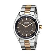 Citizen Eco-Drive Two Tone Stainless Steel Watch - AW1146-55H - Men